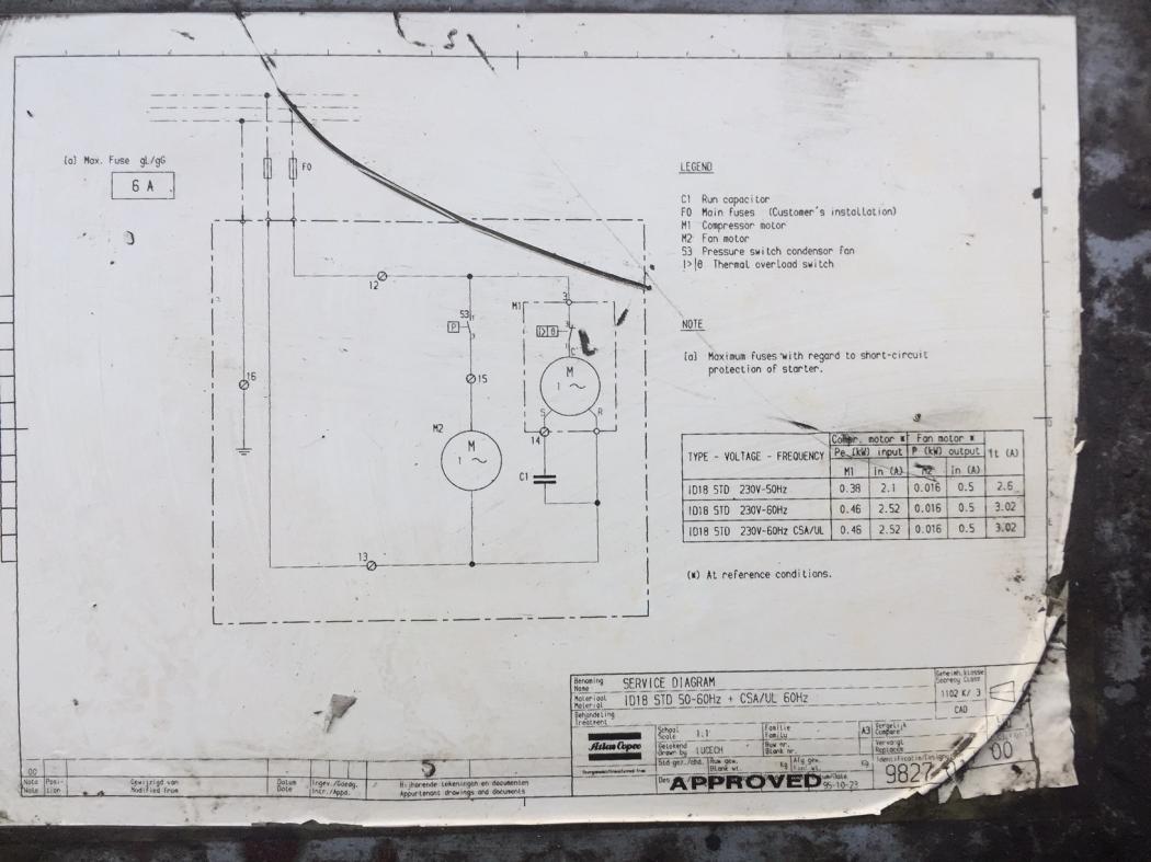 atlas copco wiring schematic diy enthusiasts wiring diagrams u2022 rh wiringdiagramnetwork today atlas copco air compressor wiring diagram Husky Air Compressor Wiring Diagram
