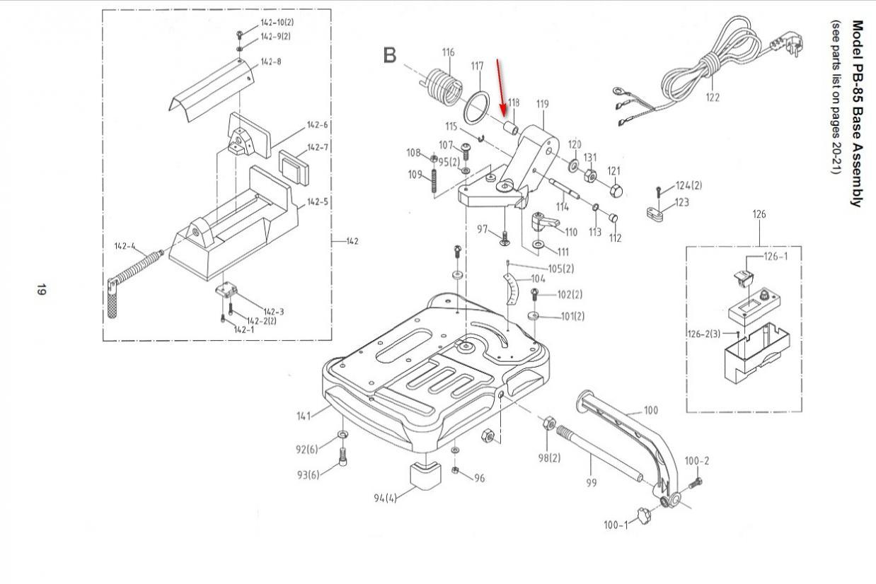 Problem With Jet Pb85 Bandsaw