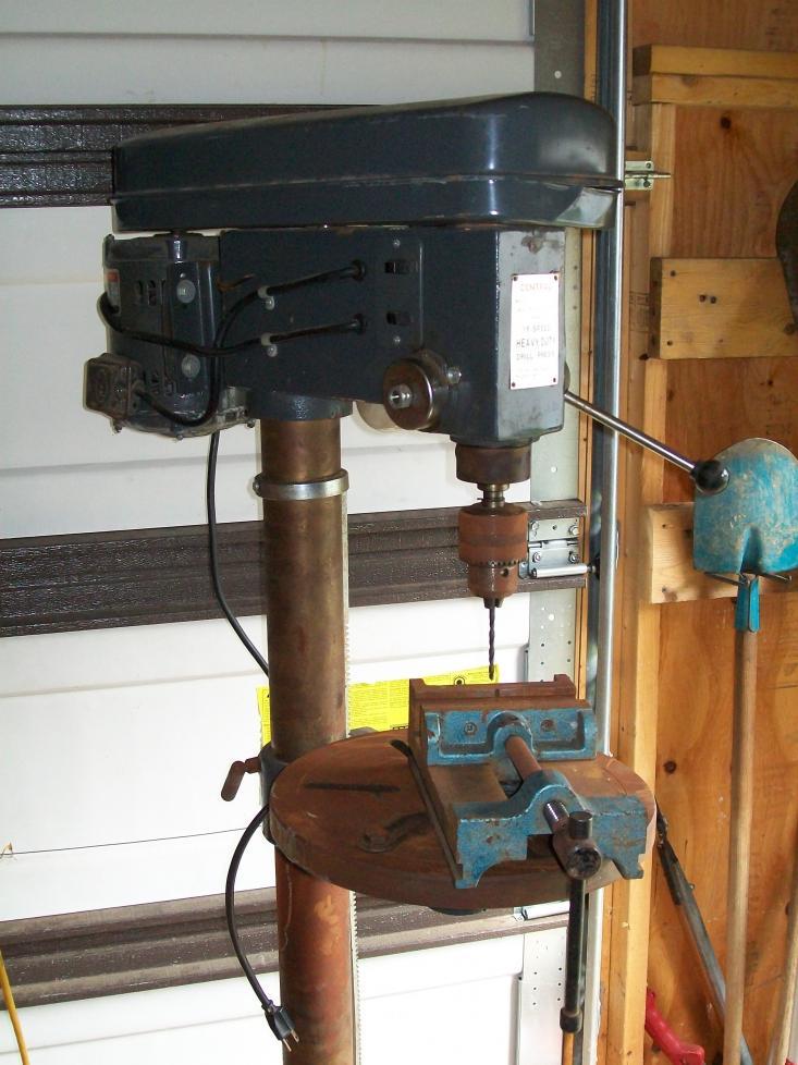 Bench Top Drill Press The Garage Journal Board