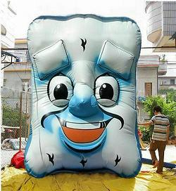 Practical Promotions   Wally the Inflatable MattressMan       Wally the Inflatable MattressMan