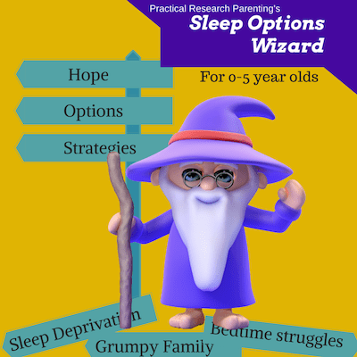 Sleep Options Wizard For 0-5 Year Olds Image