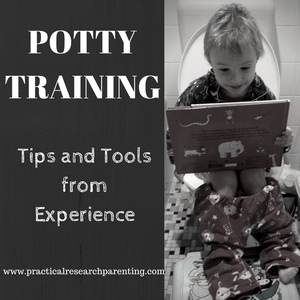 Potty Training Tips and Tools from Experience