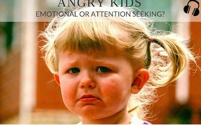 PRP023 Angry Kids: Emotional or attention seeking?
