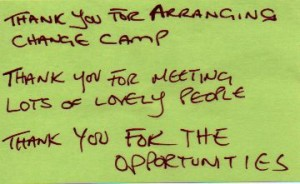 ChangeCamp Feedback 2