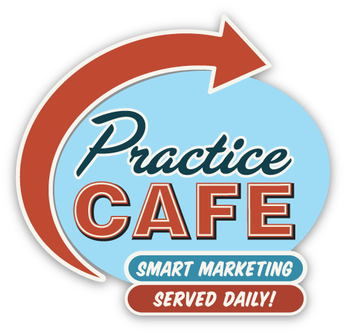 Practice Cafe Logo - Dental Marketing