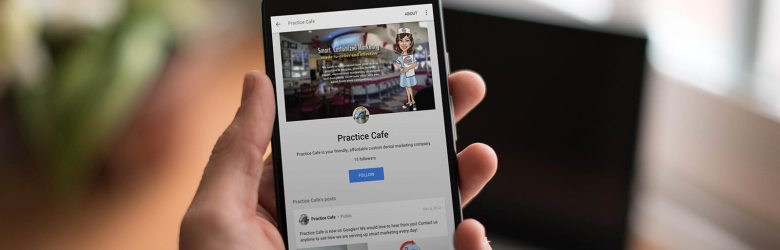 Practice Cafe on Google Plus Mobile