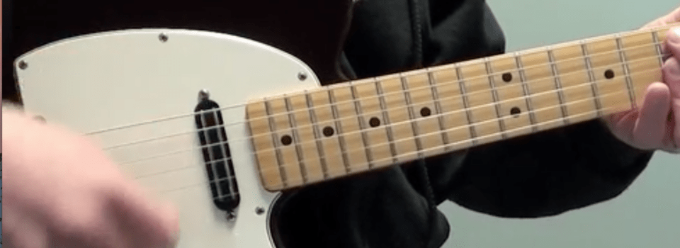 Funk Style 16th Note Displacement Pattern 1