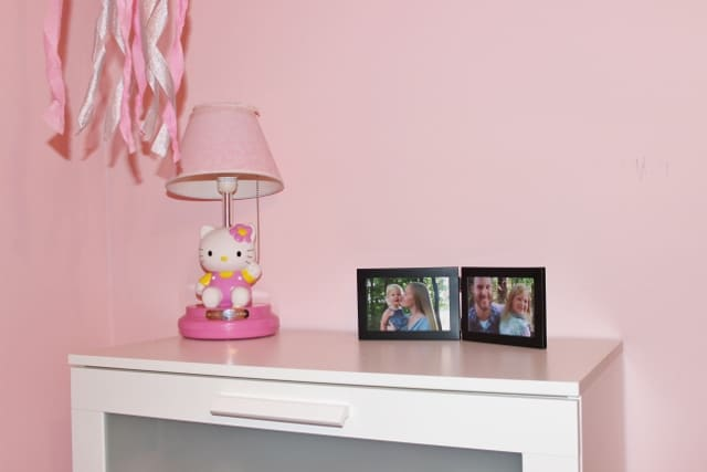 top of my girls' dresser