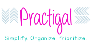practigal blog. simplify. organize. prioritize.