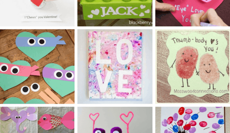 10 Easy Valentine's Day Crafts for Kids