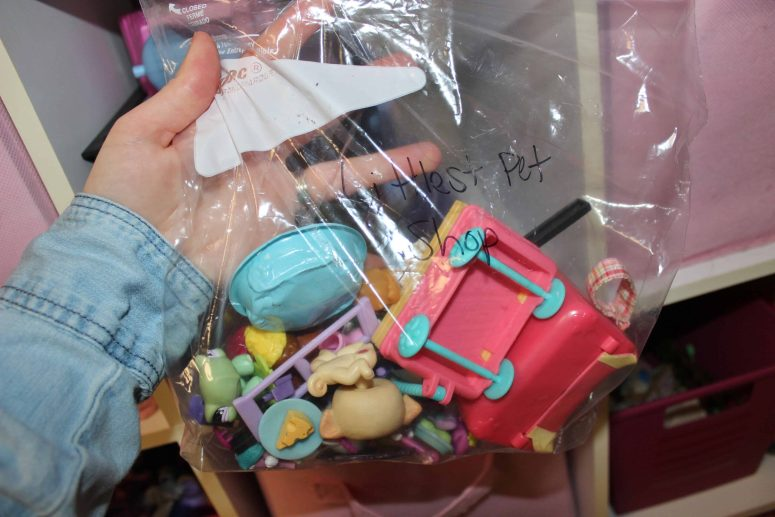 Playroom Organization. Littlest Pet Shop
