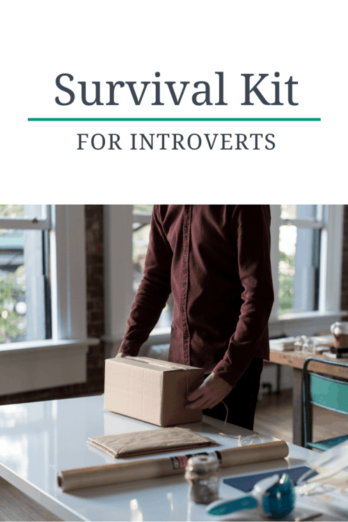 survival kit for introverts