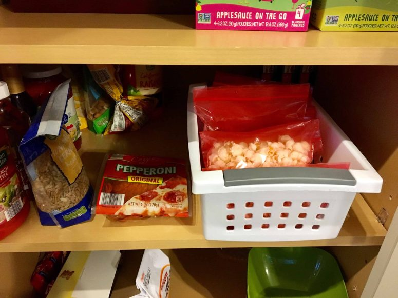 Simple Prep of School Lunches- Simplify school lunch preparation by having your kids pack their own lunches! Witha little prep, you can ensure they are packing a healthy, balanced meal. ~Practigal Blog