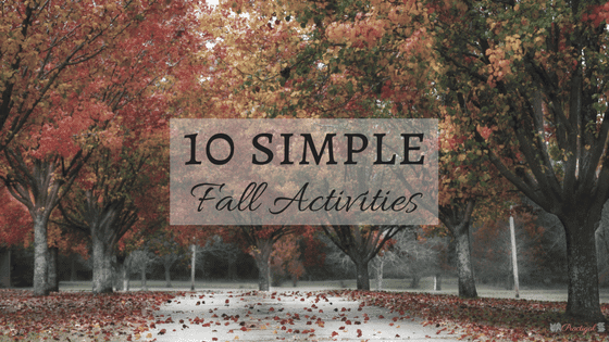 10 Simple Fall Activities