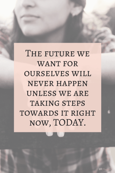 """""""The future we want for ourselves will never happen unless we are taking steps towards it right now, today."""" Mindfulness has many benefits for your life. Mindfulness changes the way you live, the way you view life, and the way you approach any given moment. ~Practigal Blog"""