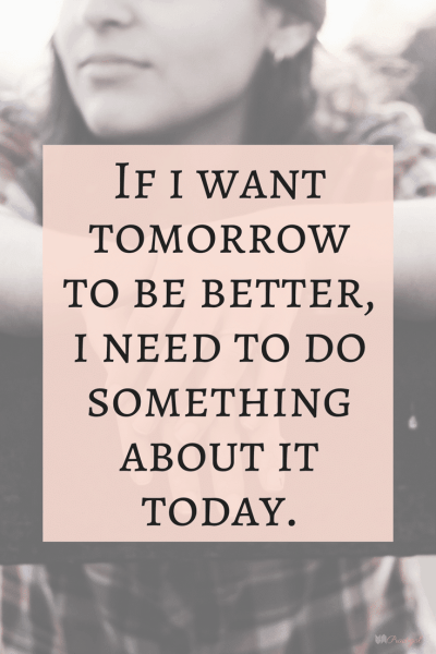 """""""If I want tomorrow to be better, I need to do something about it today."""" Mindfulness has many benefits for your life. Mindfulness changes the way you live, the way you view life, and the way you approach any given moment. ~Practigal Blog"""