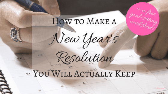 If you want to keep your New Year's resolution, you need to have a plan. Learn why people fail, and how to write an effective resolution and stick with it! Plus get a free printable goal-setting worksheet! ~Practigal Blog