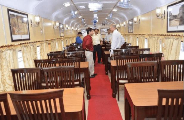 Tiger Express Train Inside