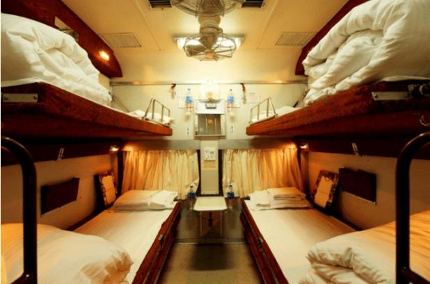 Tiger Express Train Sleeping Coaches
