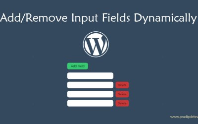 Dynamically Add/Remove Input Fields in WordPress Metabox