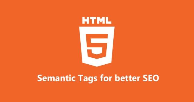 HTML5 Semantic Tags to Improve SEO