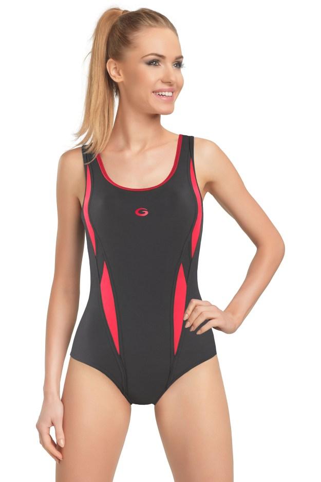 Jednodílné sportovní plavky Aqua I (57127) od Prádlo Elegant