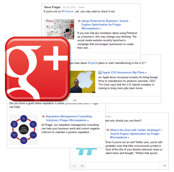 Google Plus Management