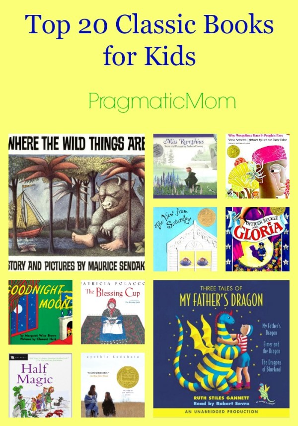 Top 20 Classic Books for Kids #LoveThriftBooks – PragmaticMom