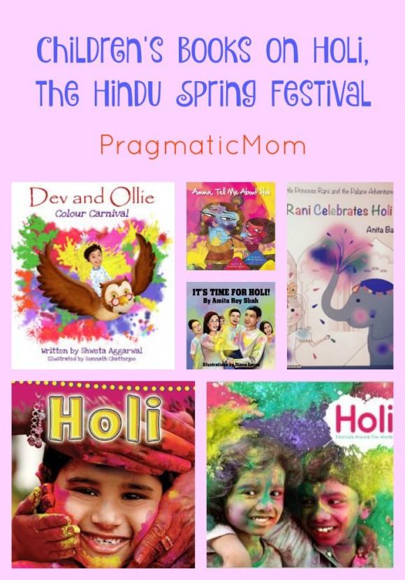 Children's Books on Holi, the Hindu Spring Festival ...