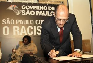 Governo Alckmin racismo são paulo