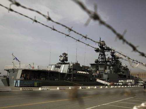 navios de guerra rússia síria