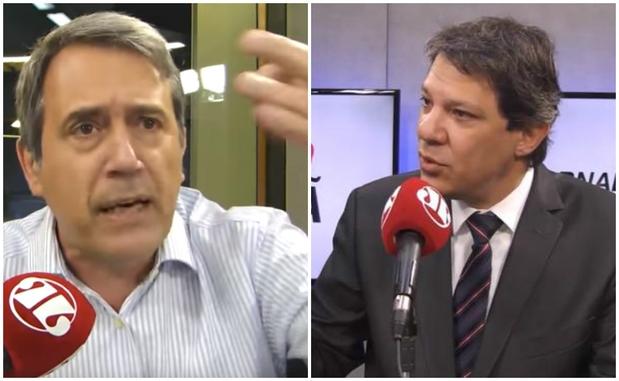 Resultado de imagem para Fernando Haddad x Marco Antônio Villa