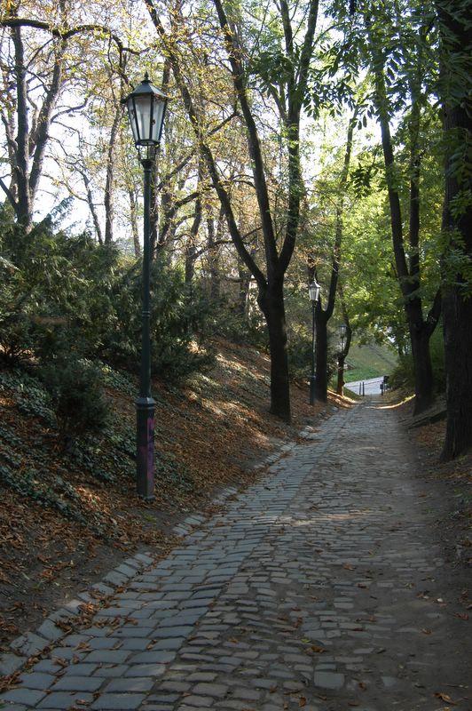 Stoned paths at Vysehrad