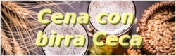 Cena con birra Ceca