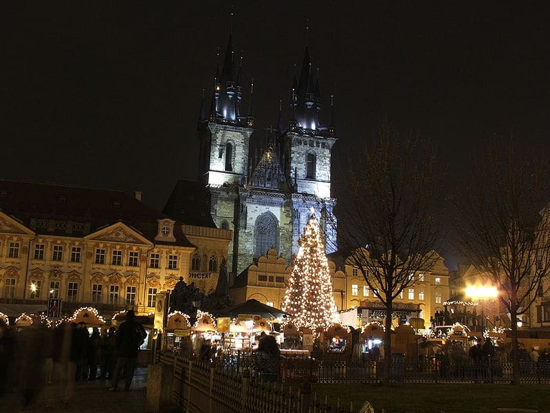 Julemarked i Praha
