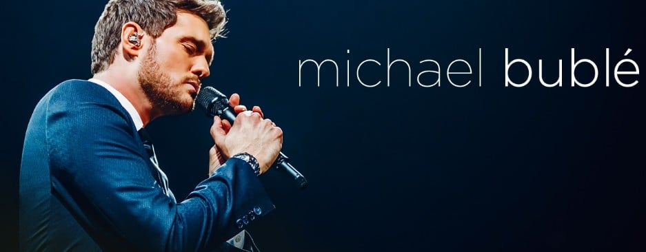 Michael Buble will come to Prague this autumn.