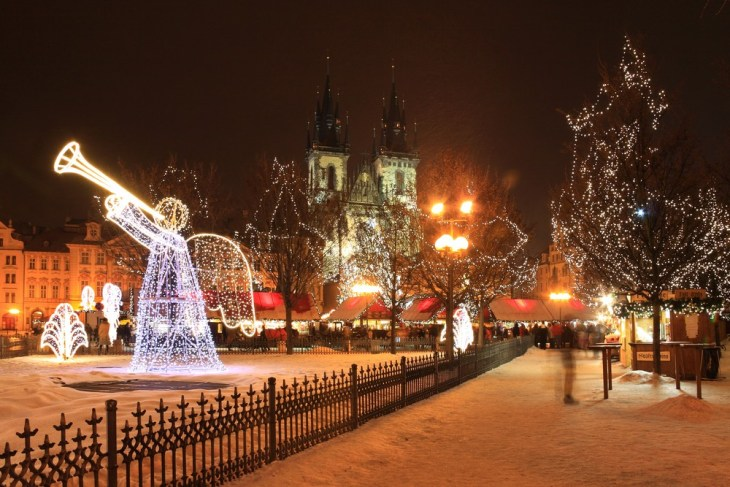 Prague is beautiful before Christmas