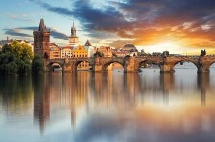 Prague is super romantic