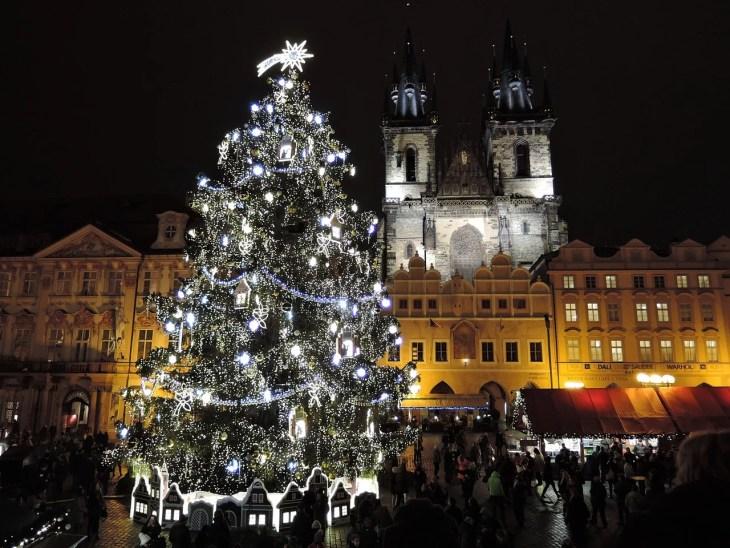 Christmas market dates in Prague 2018