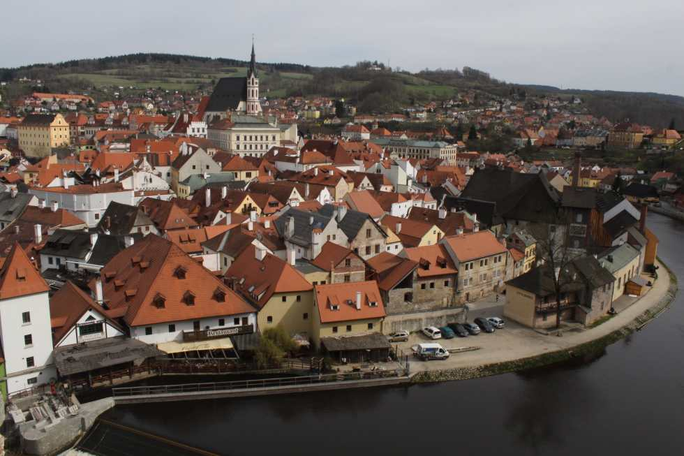 Cesky Krumlov - a beauty in the Czech Republic!