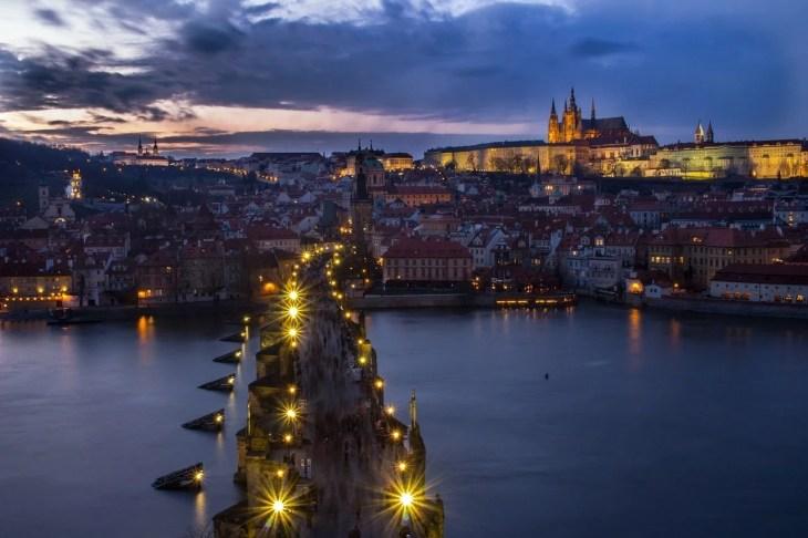 vår i Praha