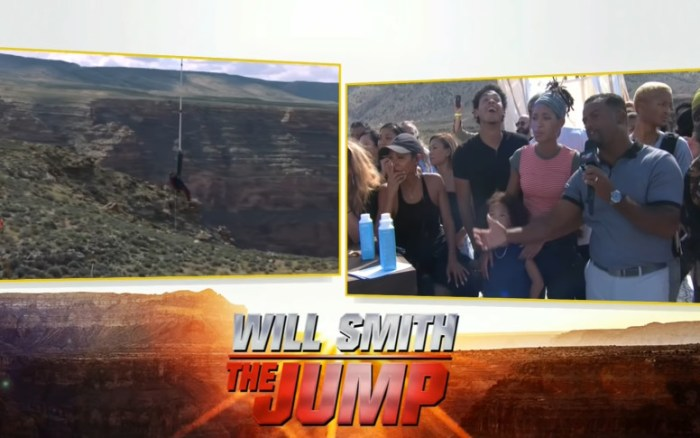 Will Smith Celebrates His 50th Birthday By Shooting Himself From A Helicopter In The Grand Canyon And Broadcasting It Live