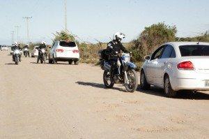 Com o final de semana bonito em Pelotas, o Laranjal esteve com bastante movimento