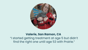 Testimonials: Valerie's Lifelong Search For Care