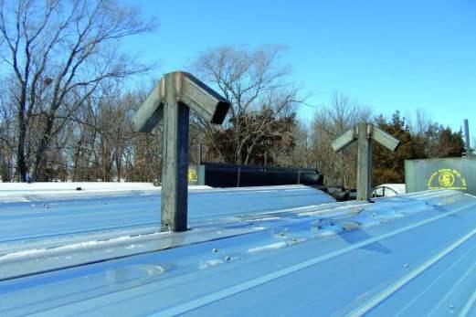 Lift Hooks for calf shelter