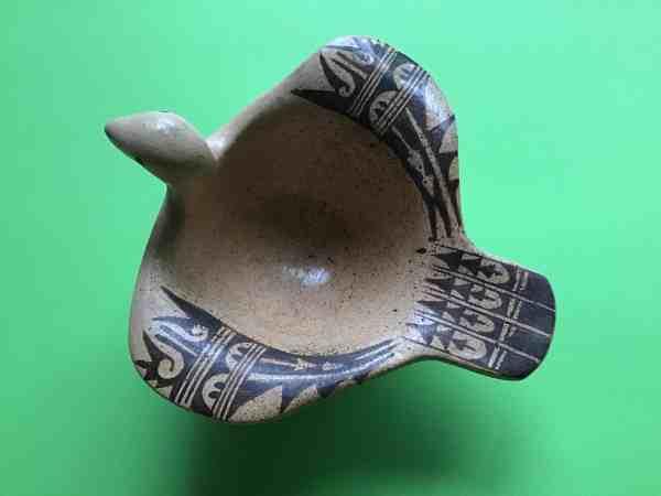 , Delores Tootsie (Hopi) – Schale in Form eines Vogels