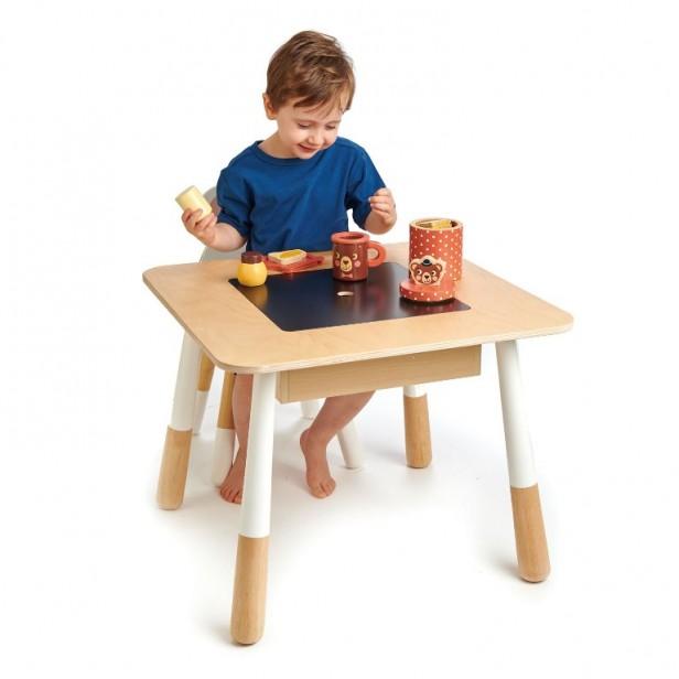 ensemble table et chaises forest