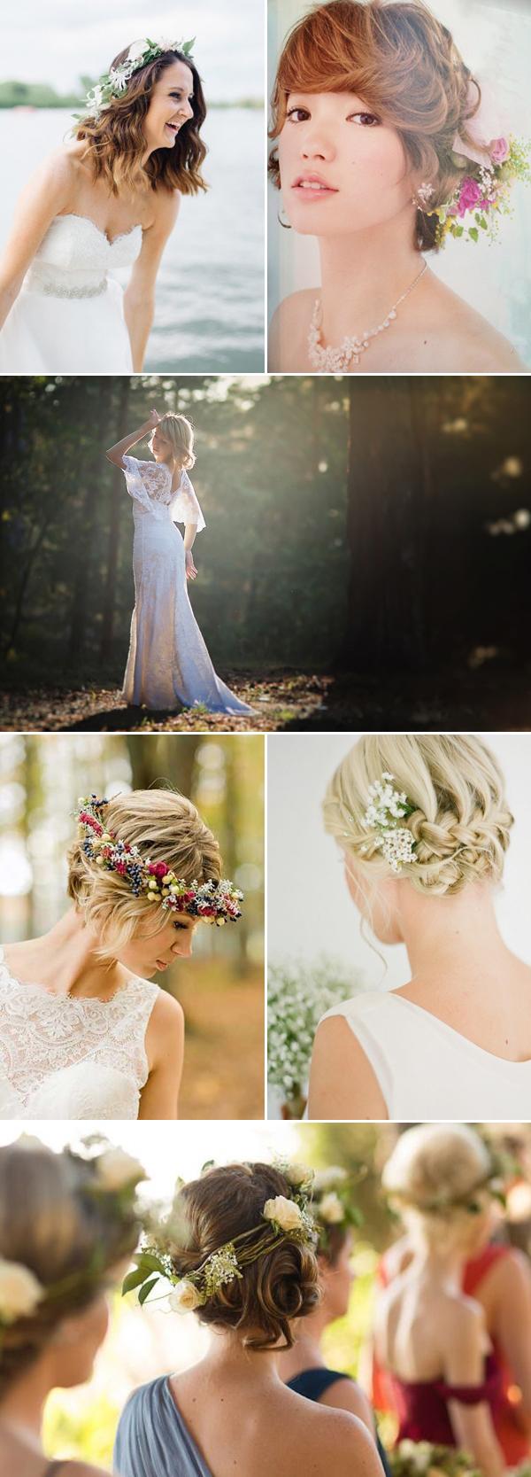 33 Chic Short Bridal Hairstyles Praise Wedding