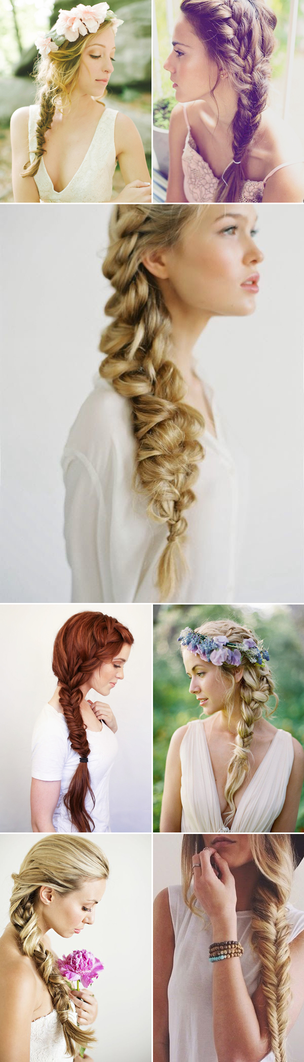 Oh So Romantic 20 Natural Bohemian Braided Hairstyles