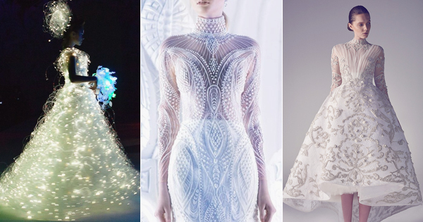40 Stunning CuttingEdge Futuristic Wedding Gowns Praise